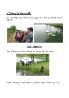 Visite de l'étang de Geneuille
